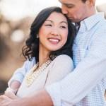Golden engagement photography