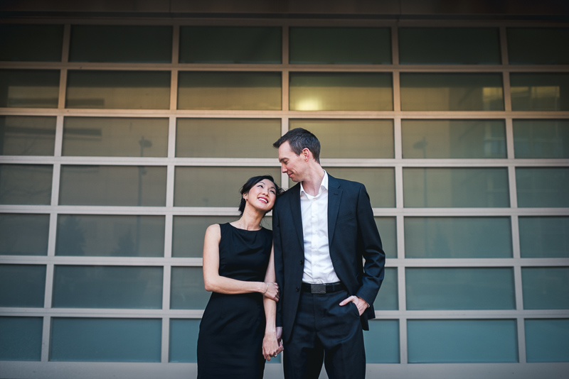 Denver engagement photography cool door