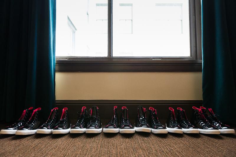 denver wedding photography custom shoes