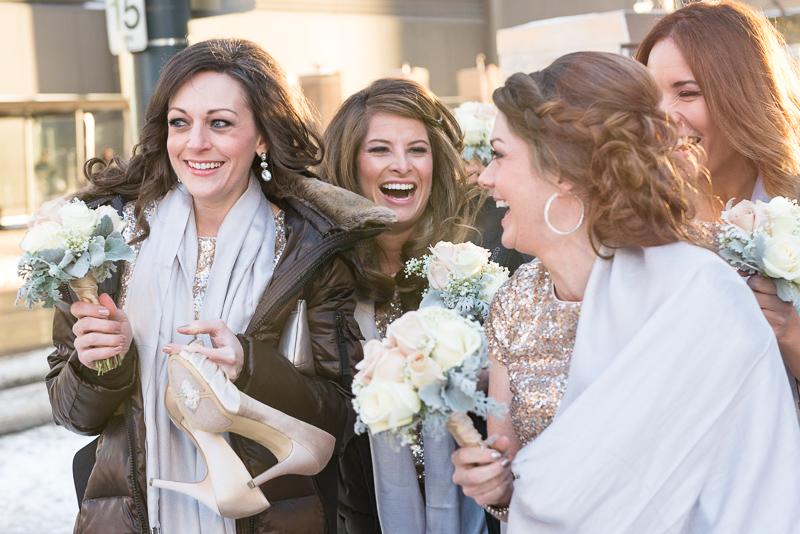 denver wedding photography laughing