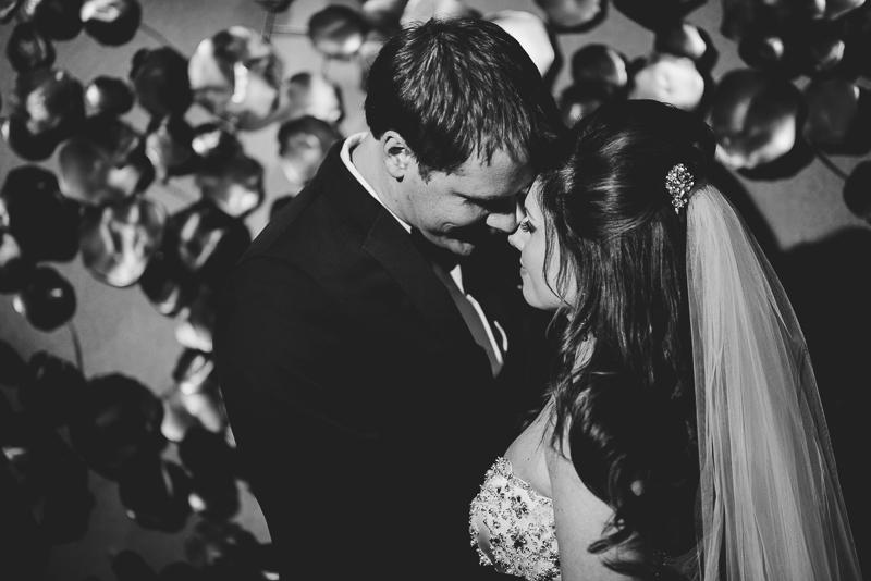 denver wedding photography dramatic bride and groom