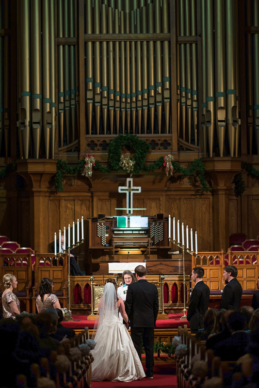 denver wedding photography church ceremony
