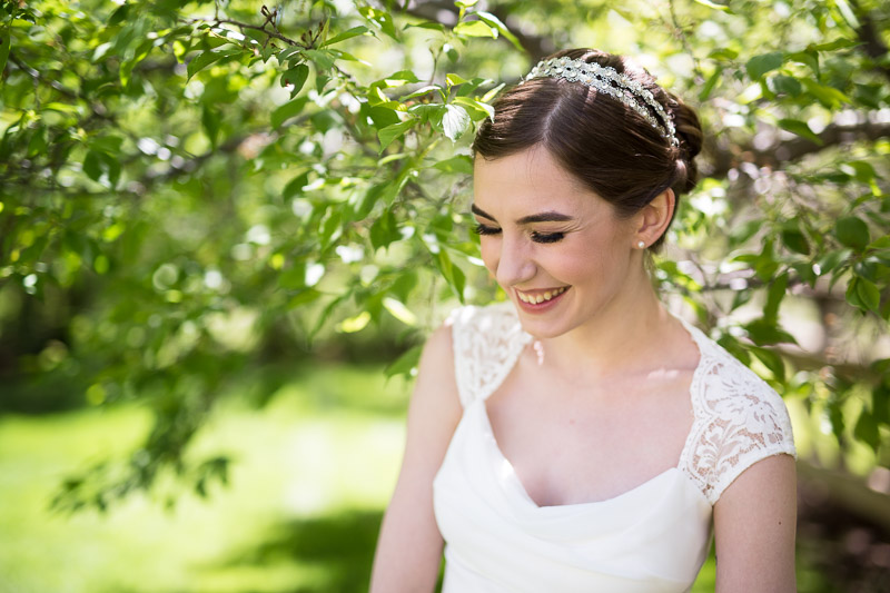 chatfield botanic gardens wedding photography tree