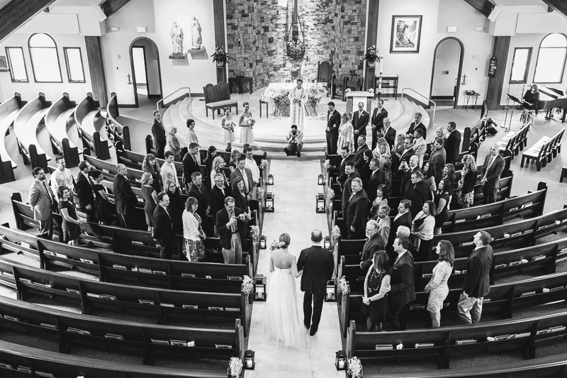 steamboat springs wedding photography black and white ceremony
