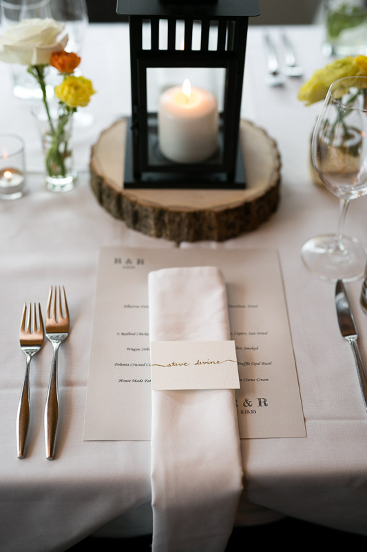 steamboat springs wedding photography place setting
