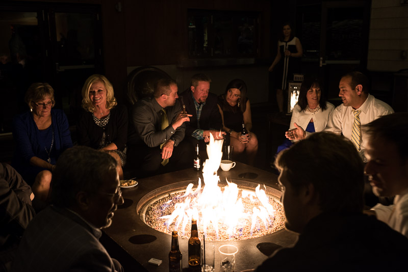 steamboat springs wedding photography fire pit