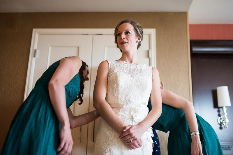 Denver Wedding Photography Cherokee Ranch and Castle bride