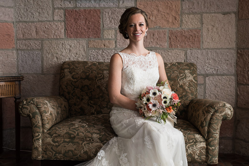 Denver Wedding Photography Cherokee Ranch and Castle bride portrait