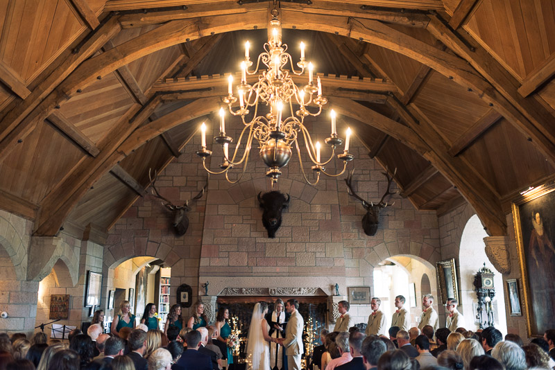 Denver Wedding Photography Cherokee Ranch and Castle ceremony