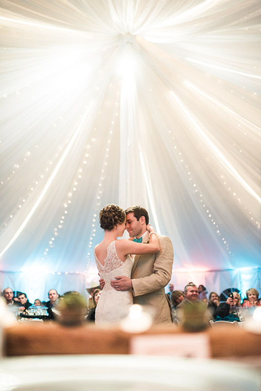 Denver Wedding Photography Cherokee Ranch and Castle first dance