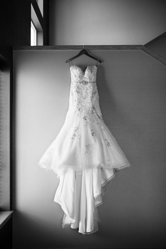 denver jewish wedding photographer dress black and white