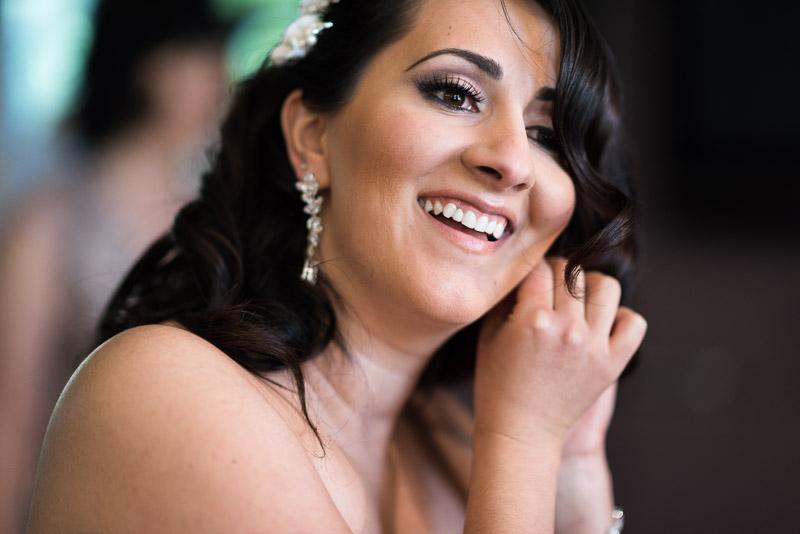 denver jewish wedding photographer bride earring