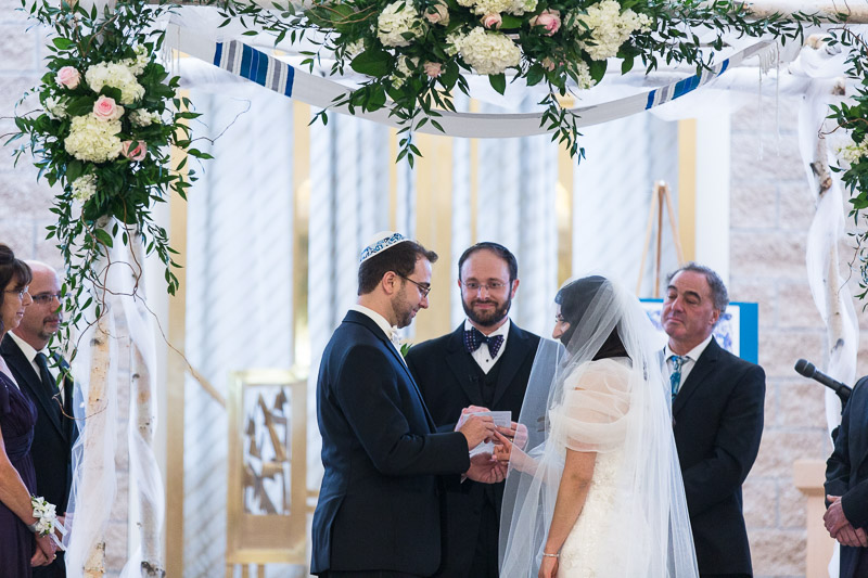 denver jewish wedding photographer chuppah