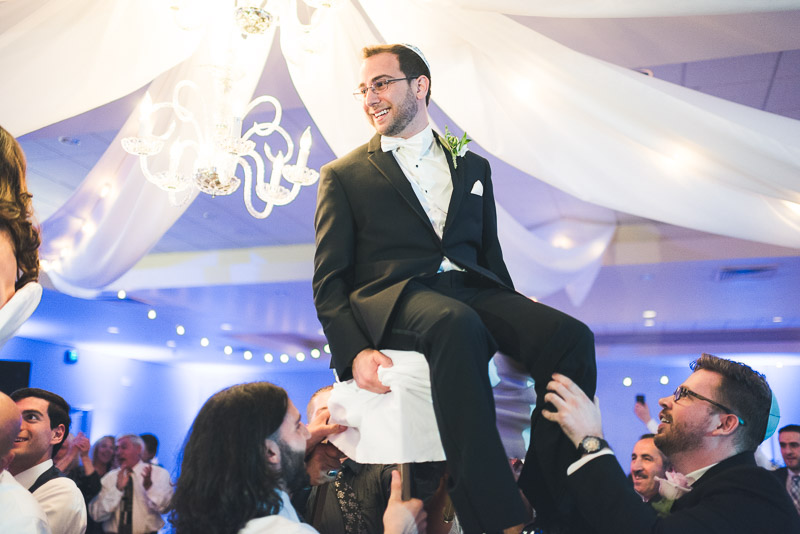 denver jewish wedding photographer hora