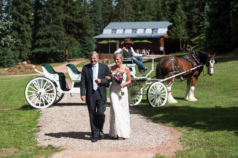Emily and Ryan Lower Lake Ranch Wedding Photography bride and horse