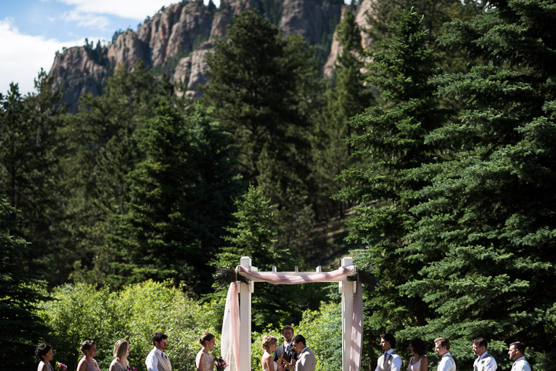 Emily and Ryan Lower Lake Ranch Wedding Photography ceremony