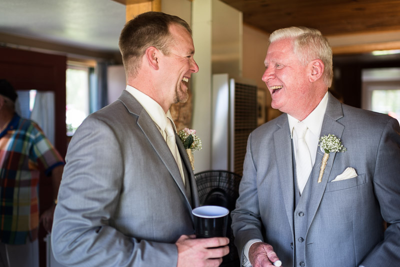 Cuchara Wedding Photographer groom laughing