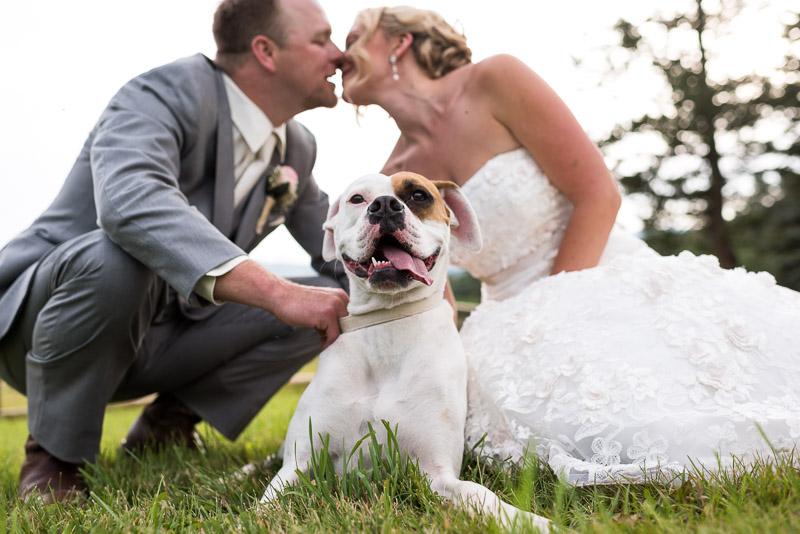 Cuchara Wedding Photographer couple with dog