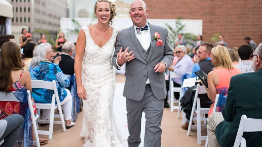 Denver athletic club wedding