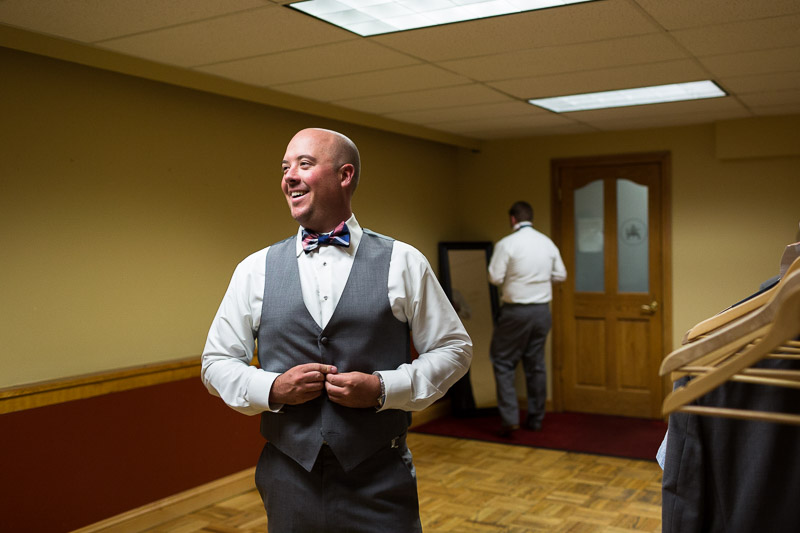 Denver athletic club wedding groom