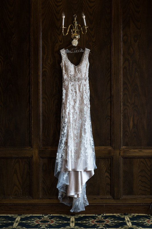 Denver athletic club wedding dress