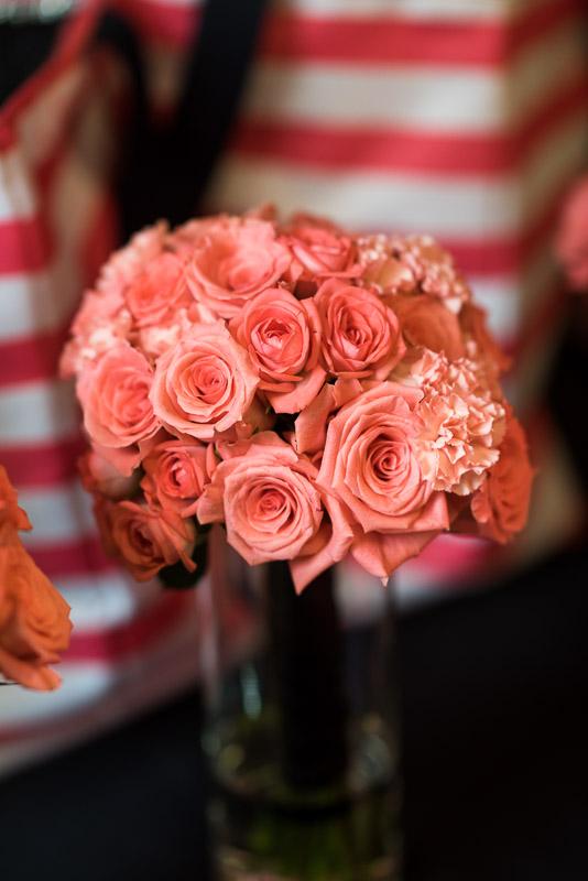 Denver athletic club wedding bouquet