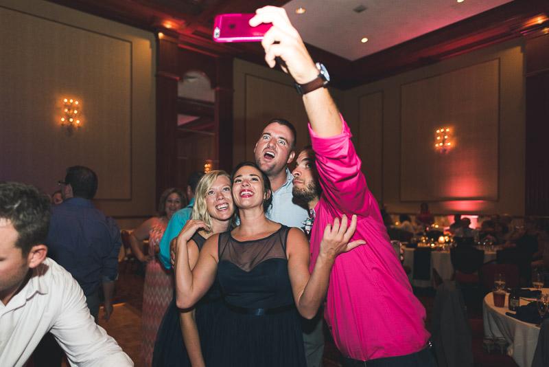 Denver athletic club wedding dancing