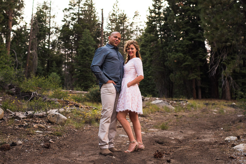 Tahoe Engagement Photography couple