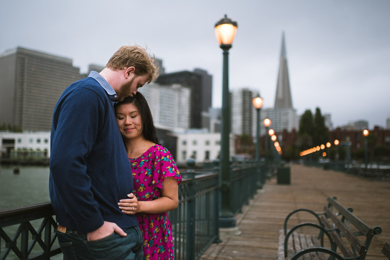 San Francisco engagement photography embarcadero
