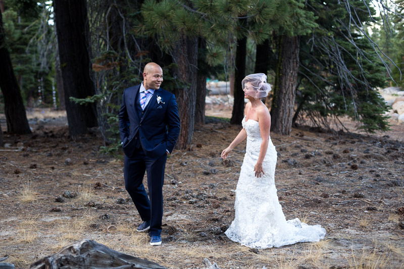 Lake Tahoe Wedding Photographer first look