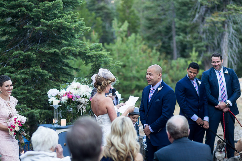Lake Tahoe Wedding Photographer laughter