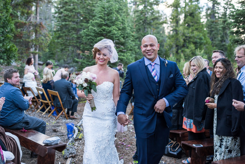 Lake Tahoe Wedding Photographer just married