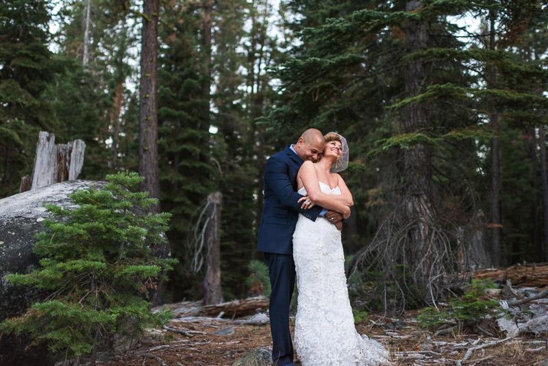 Lake Tahoe Wedding Photographer hug