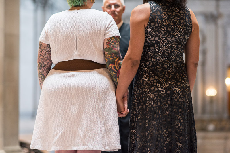 San Francisco City Hall Wedding Photography same sex