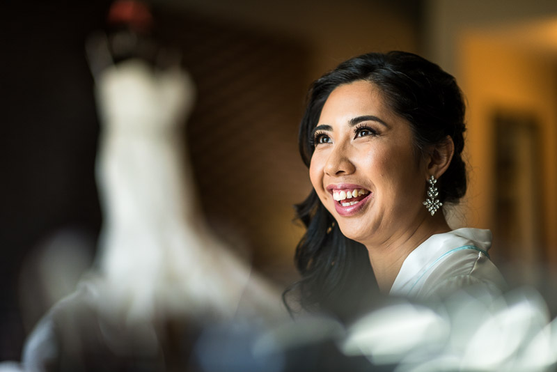 San Francisco Wedding Photography bride makeup