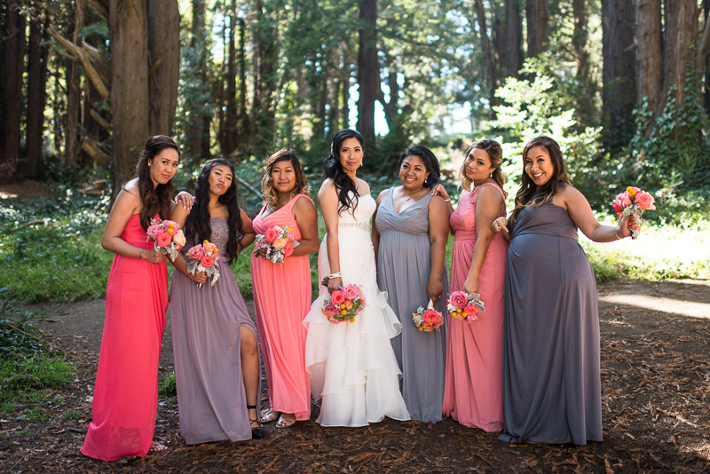San Francisco Wedding Photography bridesmaids