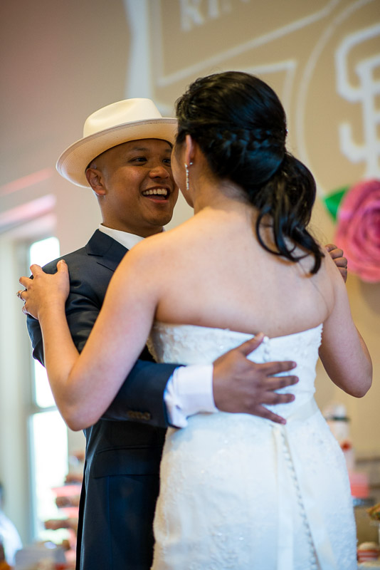 San Francisco Wedding Photography first dance