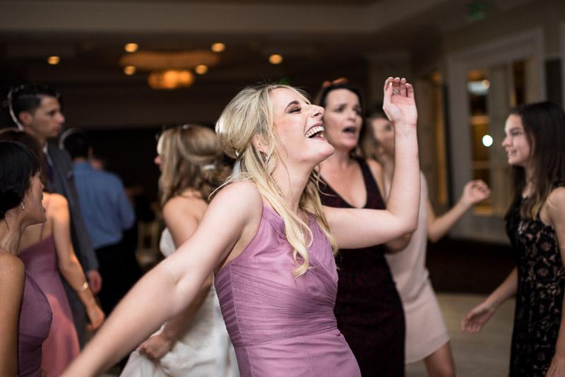 San Jose Silver Creek Country Club wedding photography dancing