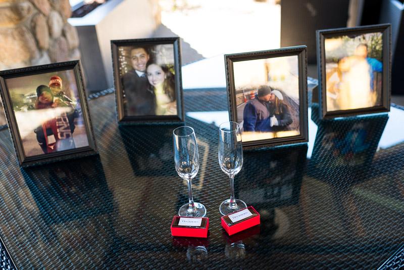 Napa Vineyard Proposal Photography paraduxx winery wine glass