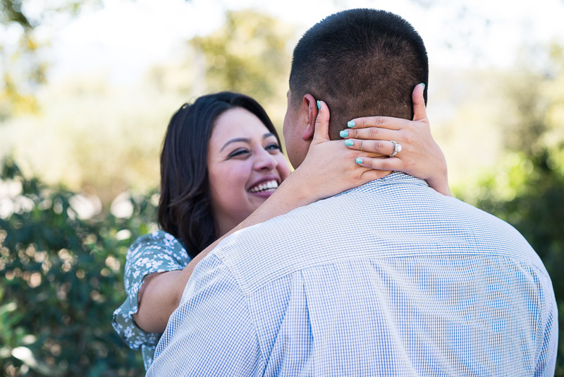 Napa Vineyard Proposal Photography paraduxx winery smiling couple