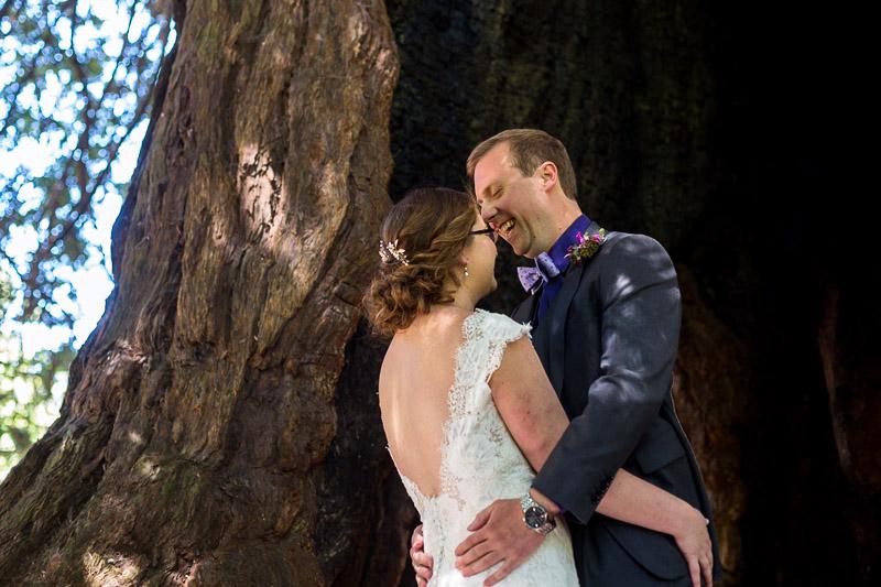 San Francisco Wedding Photography Villa Chanticleer happy first look