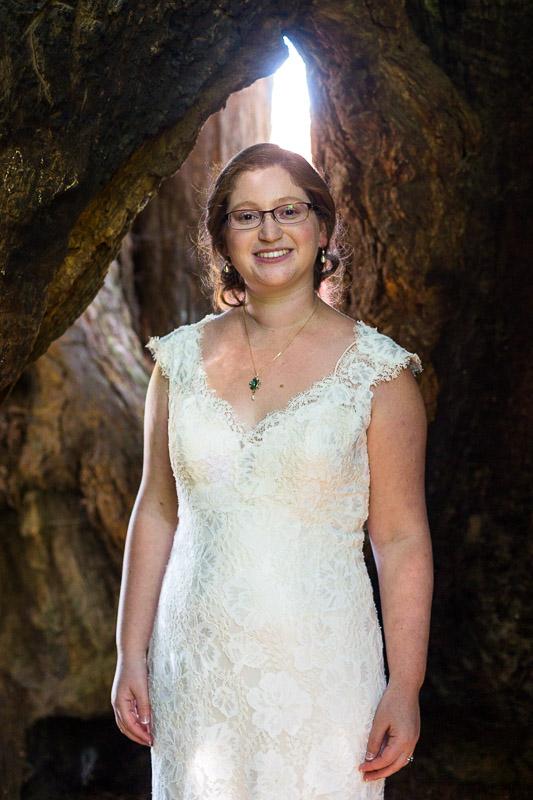 San Francisco Wedding Photography Villa Chanticleer bride eisenhower tree