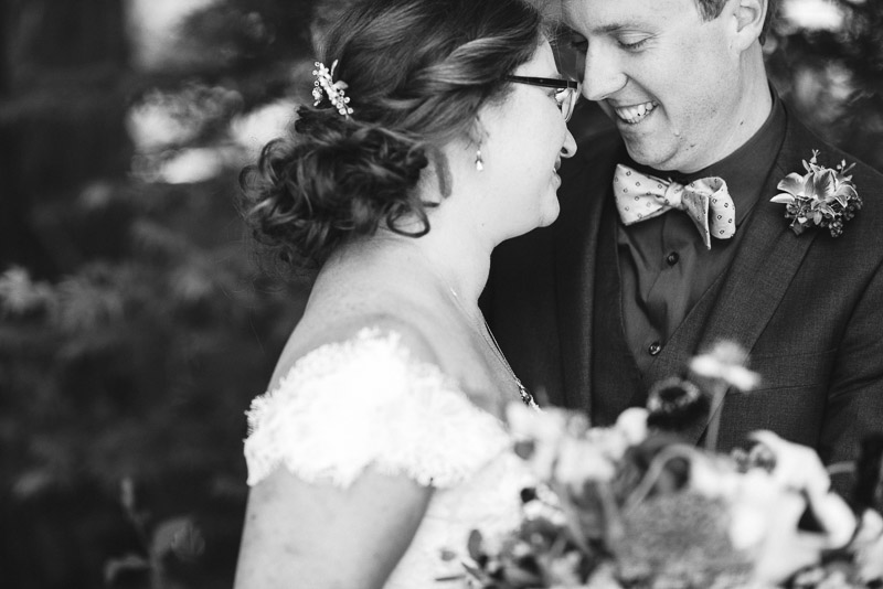 San Francisco Wedding Photography Villa Chanticleer black and white couple