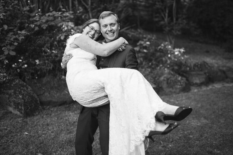 San Francisco Wedding Photography Villa Chanticleer just married