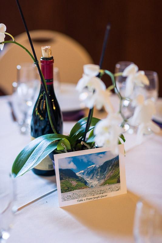 San Francisco Wedding Photography Villa Chanticleer reception table