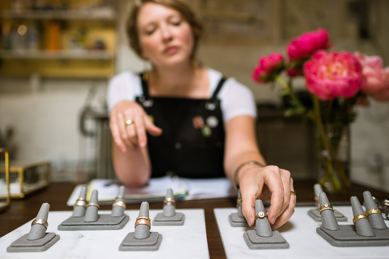 San Francisco Small Business Photography Kendra Renee Jewelry consultation
