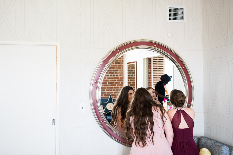 San Francisco Wedding Photographer Argonaut Hotel bridesmaids