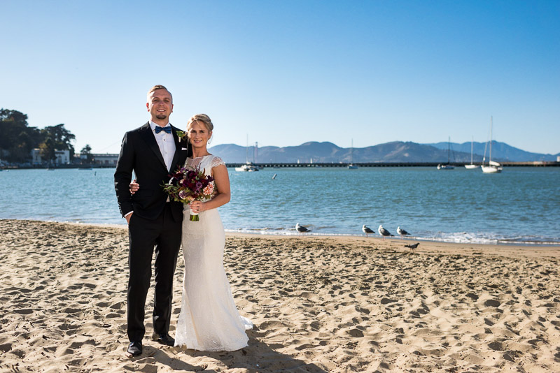 San Francisco Wedding Photographer Argonaut Hotel golden gate bridge