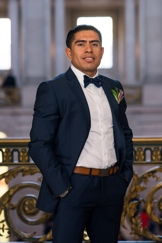 san francisco city hall groom
