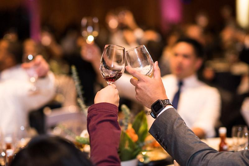 san francisco curiodyssey wedding glasses toasting